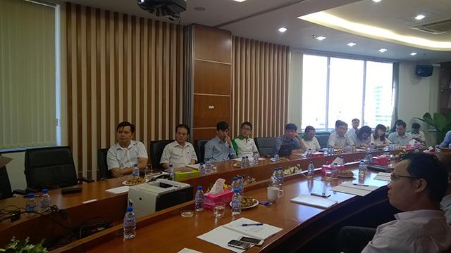 Hội đồng quản trị, Ban Giám đốc Công ty, Chi nhánh và các Trưởng các phòng nghiệp vụ tập trung cao khi tham dự khóa đào tạo do IBOSS tổ chức